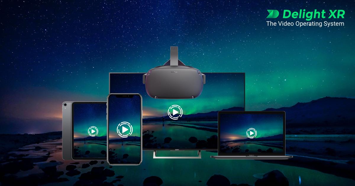 VR Video Player - Cross-Platform Playout | Delight XR